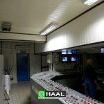 Adaptacja akustyczna ścian i stropu pomieszczenia sterowni