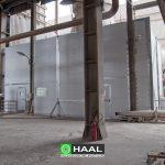 Ekran akustyczny środowiskowy wentylatora wieżowego