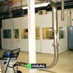 Kabina stanowiska laboratoryjnego dla przemysłu spożywczego
