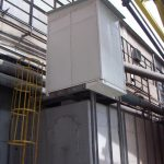 Exhaust fan's acoustic enclosure